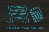 Planning your savings — Stock Photo
