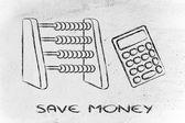 Save money — Stock Photo