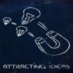 Attracting ideas — Stock Photo #47119837