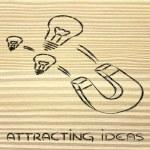 Attracting ideas — Stock Photo #47127743