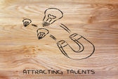 Attracting talents — Stock Photo