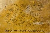 Information overload — Photo