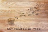 Set your mind free — Stock Photo