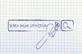 Seo, ottimizzazione dei motori di ricerca — Foto Stock