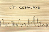 City getaways — Stock Photo