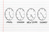 Time and project management for the global business — 图库照片