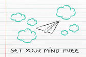 Set your imagination free — Stock Photo