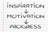 Wizja firmy: inspiracja, motywacja, postępu, sukces — Zdjęcie stockowe