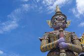 Giant Guardian in Grand Palace Bangkok — Stock Photo