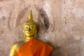 Buddha Statue in Ayutthaya Thailand — 图库照片