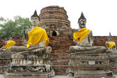 Buddha Statue in Ayutthaya Thailand — Stock Photo