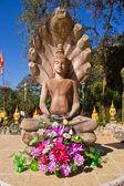 Nacprk statue of Thai temples — Stock Photo