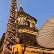 Chedi Wat Lokmolee — Stock Photo