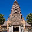 Stock Photo: Castle of Khmer art in Thailand