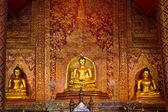 Buddhasihink in Wat Phra Singh, Chiangmai — Stock Photo