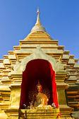 Chedi In Wat Pan Ohn Chiangmai — Stock Photo