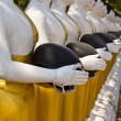 Buddha Statues in Wat Changkhum — Stock Photo