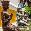Thepha Thai temple statues — 图库照片
