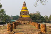 Old Chedi in Wiang Kum Kam, Ancient City — Stock Photo