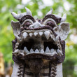 Singha Statue in Wat Lok mo lee — Stock Photo