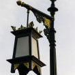 Foto Stock: Street lamp pole in Traditional Lannstyle