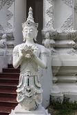 Thai angel in Wat Sri Don Moon , Chiangmai Thai Temple — Stock Photo