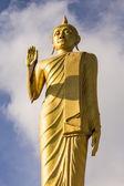 Standing buddha in Wat Mokkanlan , Chomthong Chiangmai Thailand — Stock Photo
