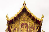 Ubosot in wat Saen Fang , Chiangmai Thailand — Stock Photo