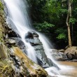 Tad Mork Water Fall in Maerim , Chiangmai Thailand — Stock Photo