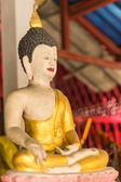 Buddha Statue in Wat Saen Fang , Chiangmai Thailand — Stock Photo