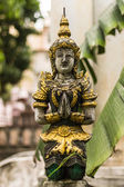 Thai angel in Wat Saen Fang , Chiangmai Thailand — Stock Photo