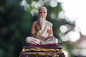 Hermit Statue and Bokeh, Medical Teacher of India — Stock Photo