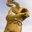 Hand of Golden statue of Ganesha — Stock Photo #35853851