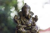 Ganesha Statue And Bokeh — Stock Photo