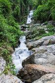Hauykeaw waterfall in Doi Suthep-Pui Nationnal Park , chaingmai — Stock Photo