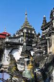 Shan temple in Thailand — Stok fotoğraf