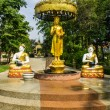 Shin Upagutta Statue in Wat Sri Don Moon , Chiangmai Thailand — Stock Photo