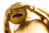 Buddha alms bowl posture — Stockfoto