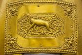 12 Tay zodiac da bell (maymun) — Stok fotoğraf