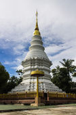 Chedi in Wat pacharoentum , Chiangmai Thailand — Stock Photo