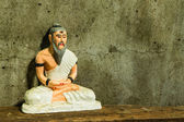 Still life with hermit Statue , Medical Teacher of India — Stock Photo
