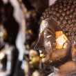 Buddha head In Wat Doikum — Foto Stock