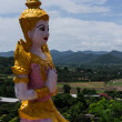 Thai angel in In wat Phrataddoitae — Stock Photo