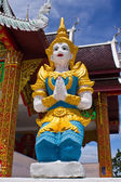 Thai angel in In wat Phrataddoitae — Stockfoto