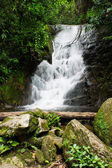A beautiful waterfall in northern Thailand — Stock Photo