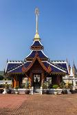 Ubosot in Wat Banden,Chiangmai Thailand — Stock Photo