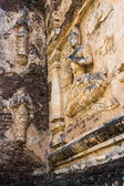 Angel on the wall , wat Ched yod in Chiangmai — ストック写真