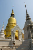 Chedi in Wat Suandok — Stock Photo
