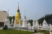 Chedi in Wat Suandok — ストック写真