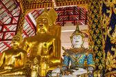 Buddha statue in Wat Suandok , Chiangmai Thailand — Stock Photo